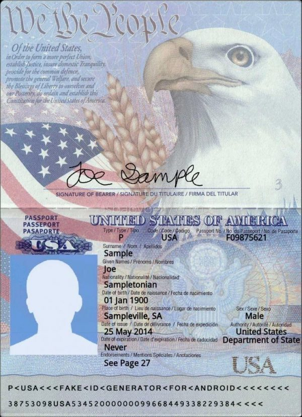 United States citizen