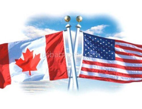 美國生仔vs加拿大生仔